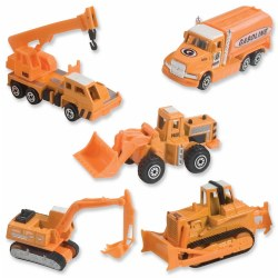Action City Construction Vehicle Set (Set of 5)