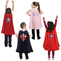 Pretend Play Adventure Capes (Set of 4)