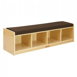 Carolina 4-Section Bench Cubby