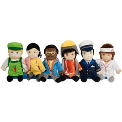 Professional Puppets (Set of 6)