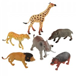 African Animals Collection - Set of 6