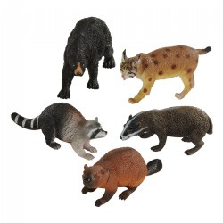 Wilderness Animals Collection - Set of 5