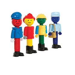 Better Builders® Community People (Set of 4)