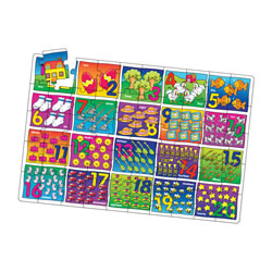 Numbers Jumbo Floor Puzzle (50 Pieces)