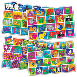 Early Childhood Themes Jumbo Floor Puzzles (Set of 4)