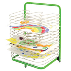 Art Work And Paint 15 Shelf Drying Rack