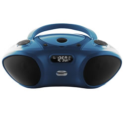 Boom Box with Bluetooth® Receiver - CD/FM Media Player