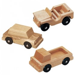 Highway Haulers Wooden Vehicles