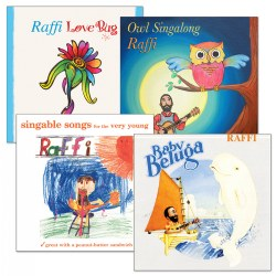 Raffi CD Collection - Set of 4