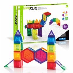 PowerClix® Solids Education Set (94 Pieces)