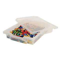 "Gratnell Storage Tray with Lid 3"" Deep"