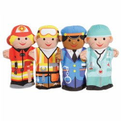 Jolly Jobs Puppet Pals (Set of 4)