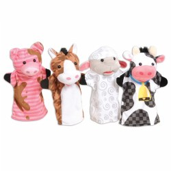 Farm Friends Puppet Pals - Set of 4