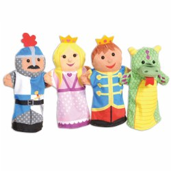 Palace Pals Puppet Set (Set of 4)