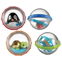 Float & Play Bubbles (Set of 4)