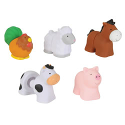Farm Friends Pop Blocs - 10 Pieces