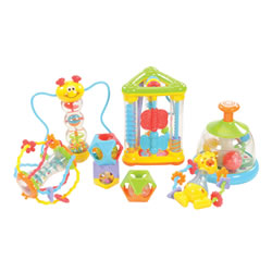 Infant and Toddler Early Skills Activity Kit - Set of 6