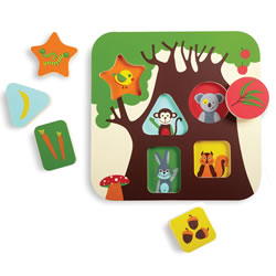 Treehouse Puzzle (6 Pieces)