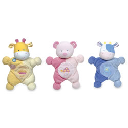 Comfort Cuddly™ Rattles (Set of 3)