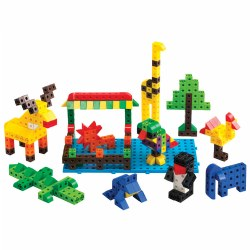 Linking Cubes Construction Set (504 Pieces)