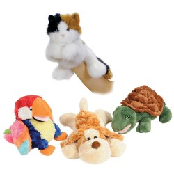 Pet Hand Puppets- Set of 4