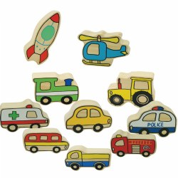Large Village Vehicles (Set of 10)