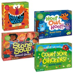 Cooperative Board Game Set (Set of 4)