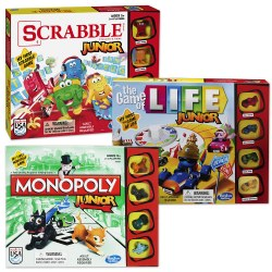 Classic Jr. Games (Set of 3)