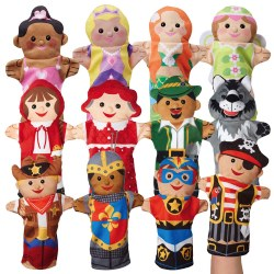 Fun and Fantasy Puppet Set (Set of 12)