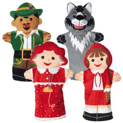 Fairy Tale Time Hand Puppets (Set of 4)