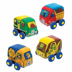 Pull-Back Construction Vehicles - Set of 4