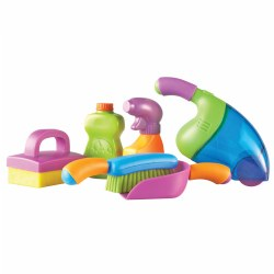 Clean It! Cleaning Set - Set of 6 Pieces