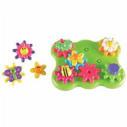 Junior Gears Flower Garden - 17 Pieces