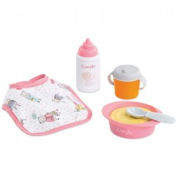 Baby Doll Pretend Play Mealtime Set