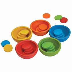 Sort and Count Cups (30 Pieces)