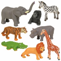 Jungle Animals - Set of 8