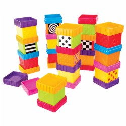Silly Sensory Blocks (Set of 40)