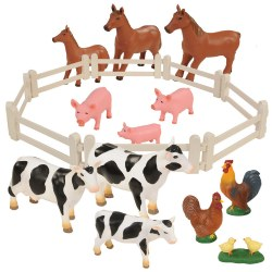 Farm Animal Families (Set of 20)