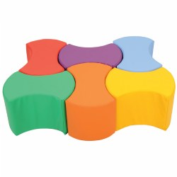 Comfort Collection Bowtie Seating (Set of 6)