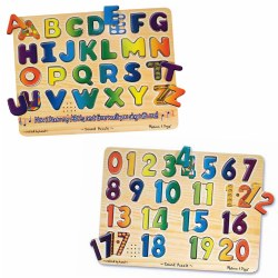 ABC & Numbers Sound Puzzles (Set of 2)