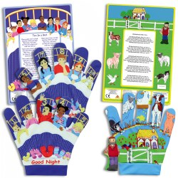 Nursery Rhymes Song Mitts