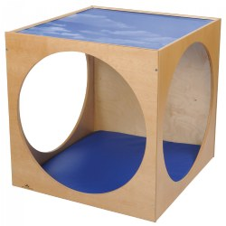 Plexiglas Top Cube with Mat