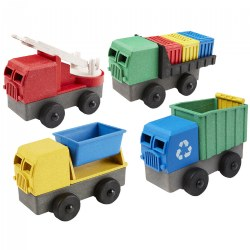 Eco-Truck STEM Building Set - Set of 4