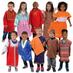 Festive Multiethnic Costumes