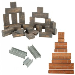 Unit Bricks®, Rocks, and Beams Value Set