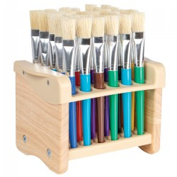 Tabletop Paintbrush Stand