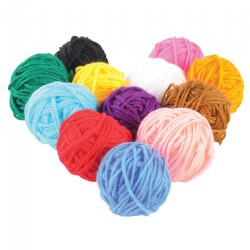 Crafting Yarn - 12 Colors