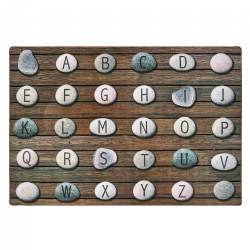 Alphabet Stones Seating Rugs and Rounds