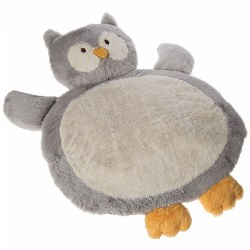 "Infant Plush and Soft 31"" Owl Shaped Baby Mat"