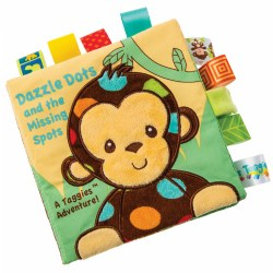 Taggies™ Dazzle Dots Monkey Cloth Book